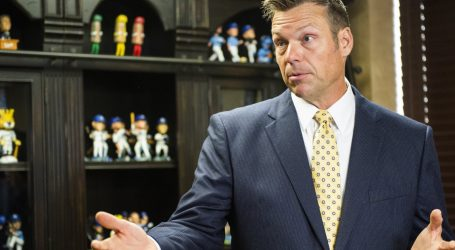 Kris Kobach Will Be Investigated by a Grand Jury as He Runs for Governor
