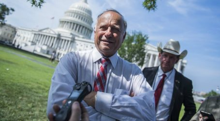 Iowa Congressman Steve King Just Can't Stop Promoting White Nationalists on Twitter