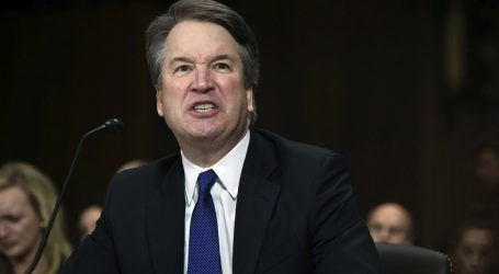 """""""Is This Judicial Temperament?"""" Kavanaugh's Fiery Opening Remarks Light Up the Internet"""