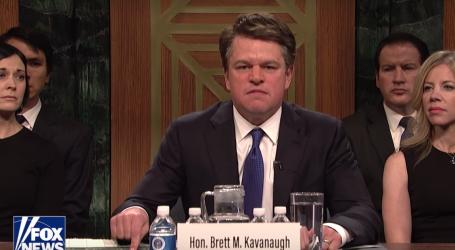 Matt Damon Played Brett Kavanaugh Like an Angry, Entitled, Drunk Frat Boy. And the Internet Ate It Up.