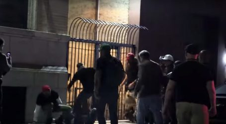 Video Shows Men in MAGA Hats Beating Protestors in NYC