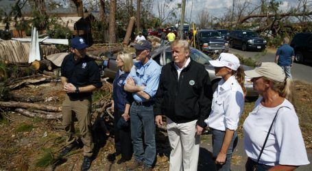 President Trump Just Visited the Trail of Devastation Hurricane Michael Left Behind