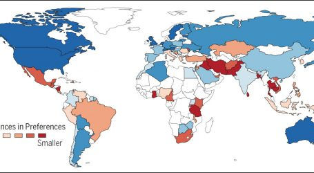 Study Suggests Richer Countries Are More Gender Divergent