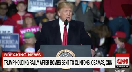 Trump Says Bombs Are Bad, But Also So Is The Media