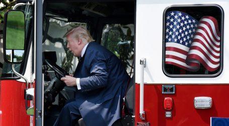 As California Burns, Trump Threatens to Cut Federal Funding