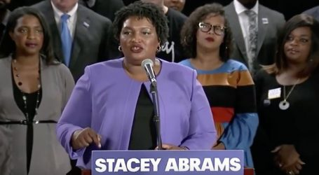 "Stacey Abrams Effectively Ended Her Campaign But Refused to ""Concede."" Watch Her Rousing Speech."