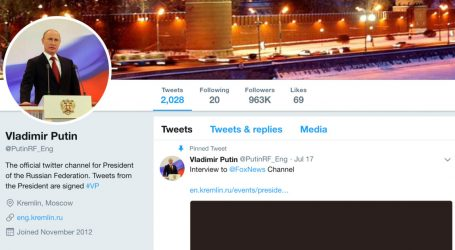 Fake Putin Twitter Account Fooled More Than a Dozen Major News Outlets