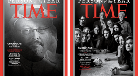 Jamal Khashoggi and Journalists Targeted for Their Work Are Time's Person of the Year