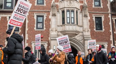 How a Small Liberal Arts College in Iowa Could Hand Trump a Big Win Against Labor Rights