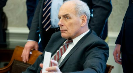 John Kelly Doesn't Want to Talk About All the Things He Helped Trump Do