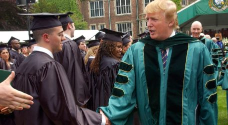 Trump Once Told Students to Never Let a Wall Get in Their Way