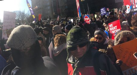 """""""We Just Want to Get Back to Work""""—Thousands of Federal Employees March on the White House"""