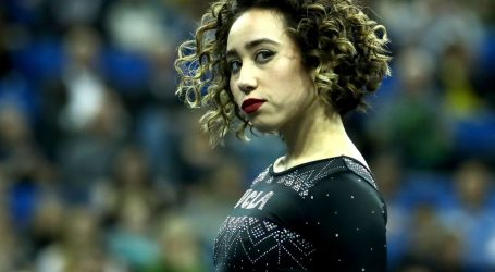 We Can't Get Over This Gymnast's Magical Floor Routine