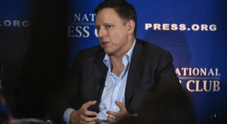 A Science Journal Funded by Peter Thiel Is Running Articles Dismissing Climate Change and Evolution