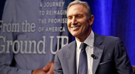 Howard Schultz Has No Good Explanation for Why He's Mulling an Independent Presidential Bid