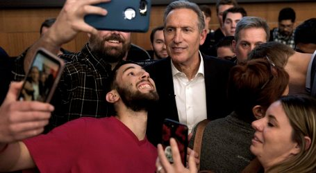 What's Up With Howard Schultz?
