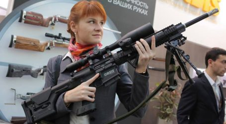 The NRA Welcomed Maria Butina—Even As She Worked to Arm Anti-American Thugs Abroad