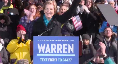 """""""We Are Here to Say, 'Enough Is Enough'"""": Elizabeth Warren Formally Launches Bid for President"""