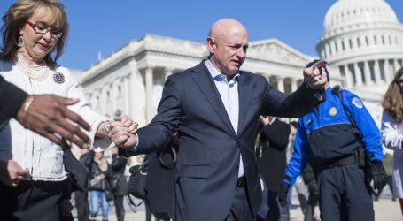 Mark Kelly Helped Turn Guns Into a National Issue. But Will a State With Lax Gun Laws Elect Him?