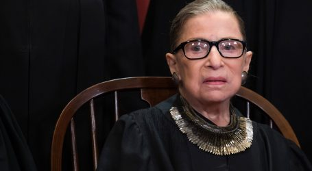 Ruth Bader Ginsburg, Who is Not In a Coma, Returns to Supreme Court