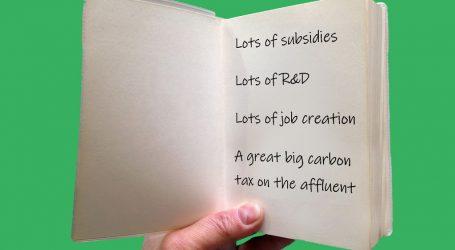 My Abridged Green New Deal