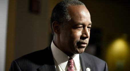 Ben Carson Just Announced He Will Leave His Post at the End of Trump's First Term