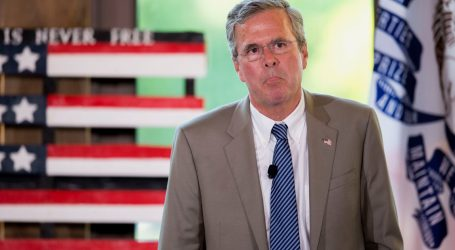 Election Watchdog Hits Jeb Bush's Super-PAC With Massive Fine for Taking Money From Foreign Nationals