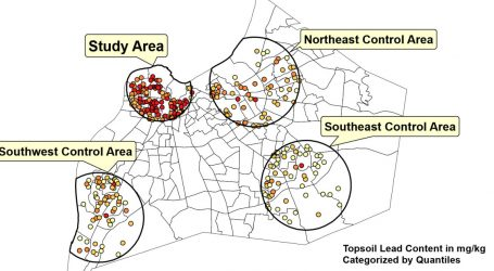 Yet Another Topsoil Study Finds Lead-Crime Link