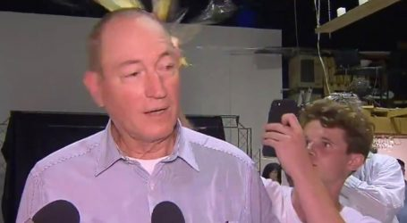 A Teen Smashed an Egg on the Australian Senator Who Blamed New Zealand Massacre on Immigration