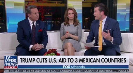"""Fox and Friends"" Describes Guatemala, El Salvador, and Honduras as ""3 Mexican Countries"""