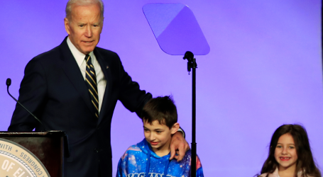 Biden Cracks Consent Jokes Amid Inappropriate Touching Allegations