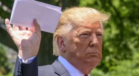 Remember When Trump Waved a Paper at Reporters and Said It Was a Secret Deal with Mexico? Here It Is.