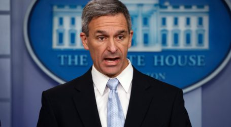 Cuccinelli's Family Tree Suggests His New Immigration Rule Might Have Blocked His Ancestors