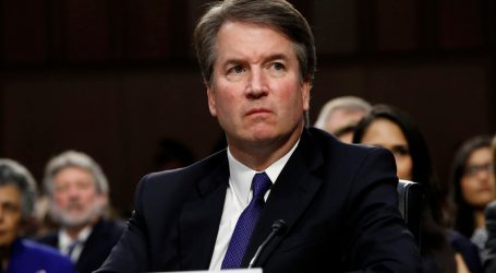 Attorney General Barr Gives Award to Lawyers for Backing Brett Kavanaugh