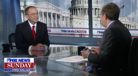 Mick Mulvaney Tried to Lie on Fox News About His Ukraine Comments. Then Chris Wallace Ran the Tape.