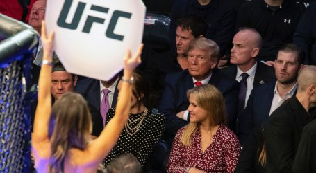 Trump Is in Denial About Getting Booed Again, This Time at a UFC Fight