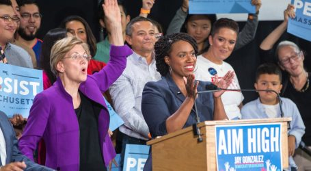 """Ayanna Pressley Breaks With the """"Squad"""" to Endorse Warren for President"""