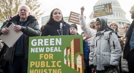 Bernie Sanders and AOC Want to Commit $180 Billion to Turn Public Housing Green