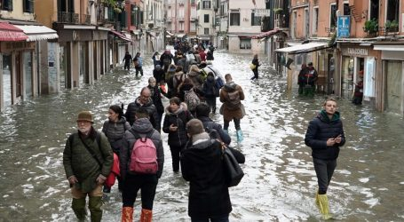 Its Flood Barrier Is Unfinished, and Venice Is Submerged