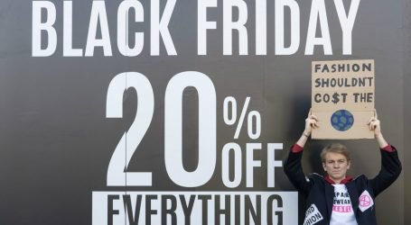Climate Activists Protest Black Friday Around the World