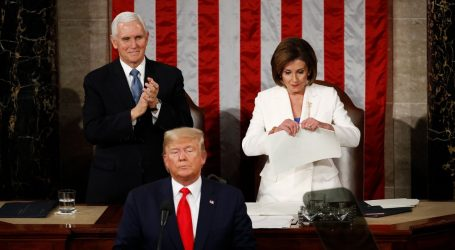 Donald Trump Gave a Terrible State of the Union Speech. Nancy Pelosi Ripped It Up.
