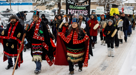 The Tiny Indigenous Village That Ground Canada To A Halt