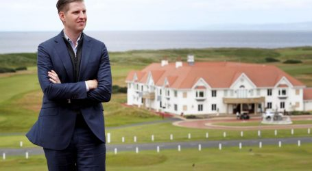 Taxpayers Are Likely on the Hook for Eric Trump's Trip to His Dad's European Resorts