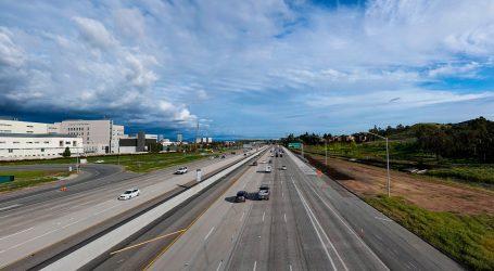 Here's What California Traffic Looks Like on Lockdown
