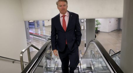 Rand Paul Was Seen at the Senate Pool Hours Before He Got His Positive Coronavirus Test Result