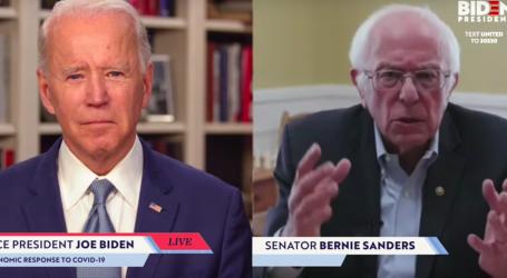 Bernie Sanders Endorses Joe Biden, Suggests They Should Play Chess