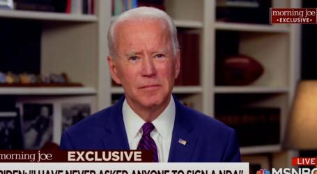 Biden Denies Sexual Assault Allegation