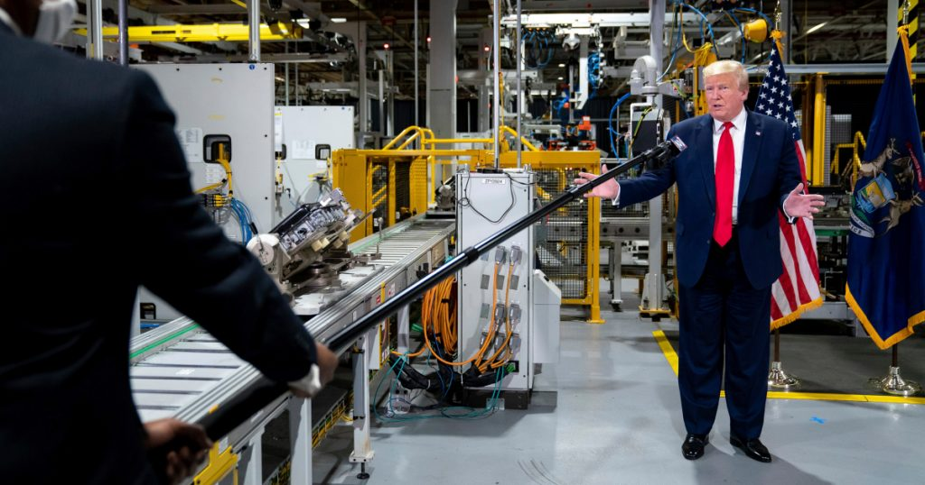 """""""a-petulant-child-who-refuses-to-follow-the-rules"""":-michigan-ag-slams-trump-for-maskless-ford-plant-tour"""