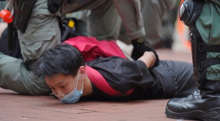 Hong Kong Protesters Brave Pandemic Fears and Tear Gas to Denounce China's Big Security Push