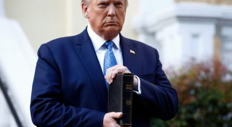 oops—trump-brought-the-wrong-bible-to-his-church-stunt